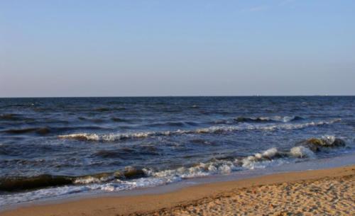Азовское море. Станица Голубицкая
